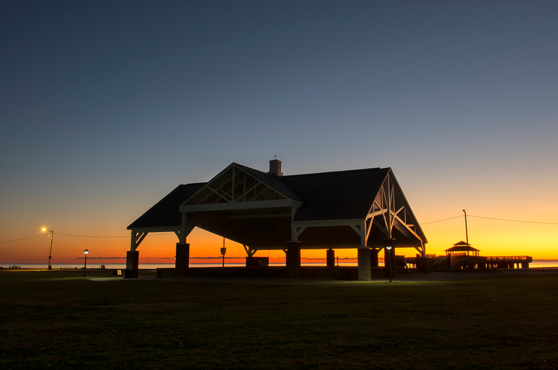 January 1 - First Sunrise - Buckroe Beach