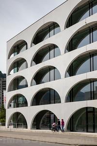 Gebäuder der ÖKK Krankenversicherung , Agentur in Landquart © Patrick Lüthy/IMAGOpress.com
