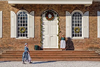 Colonial Williamsburg Courthouse