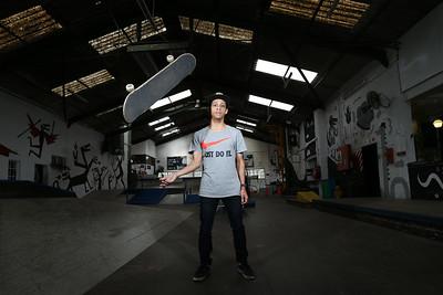 Professional Skateboarder, Jean-Marc Johannes Feature