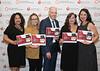 Nancy Brown, Jennie Garth, Michele Bolles, Award Winning Hospital, Survivor Laura LaRose (TBD) during Quality Improvement Recognition Event