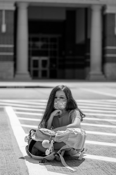 Amber Quiroz<br /> MacArthur High School<br /> Houston, TX<br /> Waiting for kindergarten to start in an unsure time, not knowing what to expect.