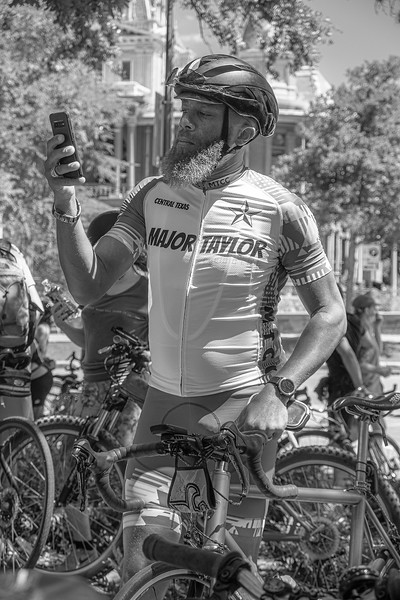 4Austin Black History Social Ride 4 - MTCC Rider