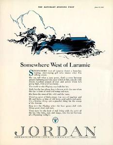 Somewhere West of Laramie...