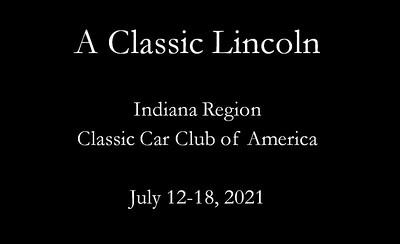Classic Lincoln title