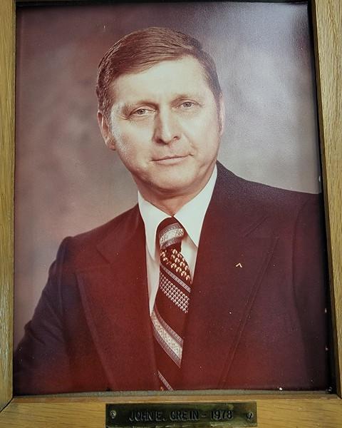 John E. Grein WM of Englewood Lodge No 715 in 1978