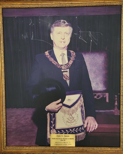 John E Grein Grand Master in 1989-90
