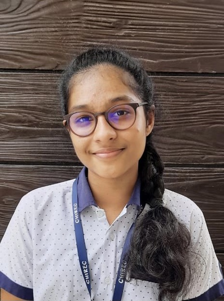 Esha is the youngest winner among expert writers and poets at the contest.