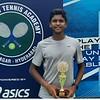 Venkat Rishi Batlanki wins the 3-day Under-18 Championship Series conducted by AITA