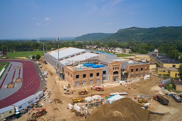 2021 UWL Field House Construction 0214
