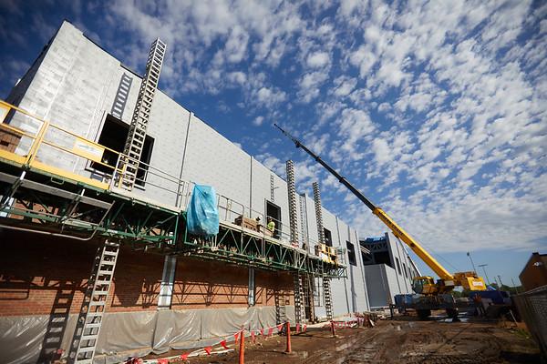 2021 UWL Field House Construction 0036