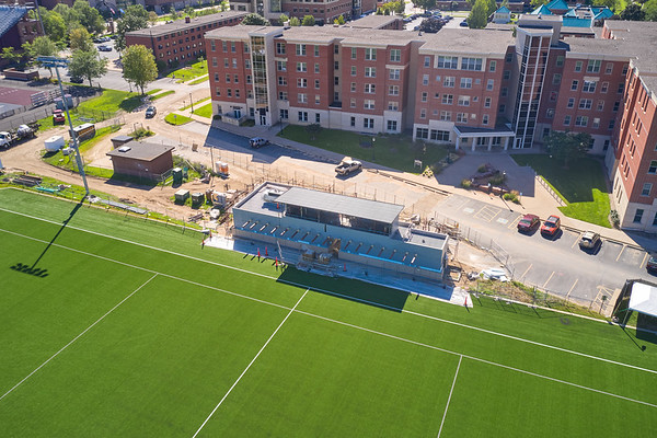 2021 UWL Soccer Support Facility Construction  0006