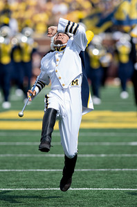 Michigan beats Western Michigan University, 47-14, in the 2021 season opener for both teams at Michigan Stadium in Ann Arbor.