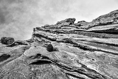 DA115,DB,The Red Rocks in Black and White - Colorado, USA