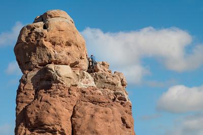 DA110,DT,Climber Arches Moab Ut-1