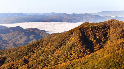 DA054,DT,Above the Clouds,Blue Ridge Parkway, NC