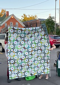 Ruby Freed made this quilt.