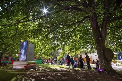 Edinburgh International Book Festival opens in its new home at Edinburgh College of Art