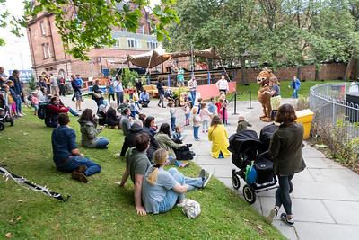 Edinburgh International Book Festival 2021 - Audiences enjoy a visit from the Gruffalo