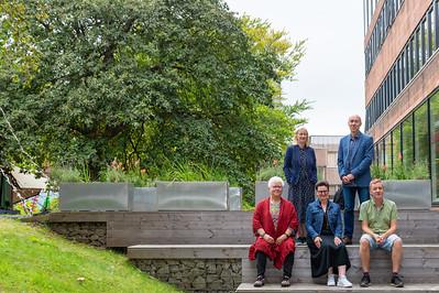 Edinburgh's Crime Writers - Ambrose Parry (aka Marisa Haetzman & Chris Brookmyre), Val McDermid, Mary Paulson Ellis and Doug Johnstone at the 2021 Edinburgh International Book Festival