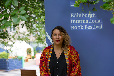 Salena Godden at the 2021 Edinburgh International Book Festival