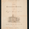 1876 Buffalo Normal School commencement booklet for 150th anniversary celebration at SUNY Buffalo State College.