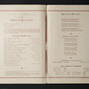 1890 State Normal and Training School commencement booklet  for 150th anniversary celebration at SUNY Buffalo State College.