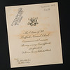 1899 Buffalo Normal School commencement invitation for 150th anniversary celebration at SUNY Buffalo State College.