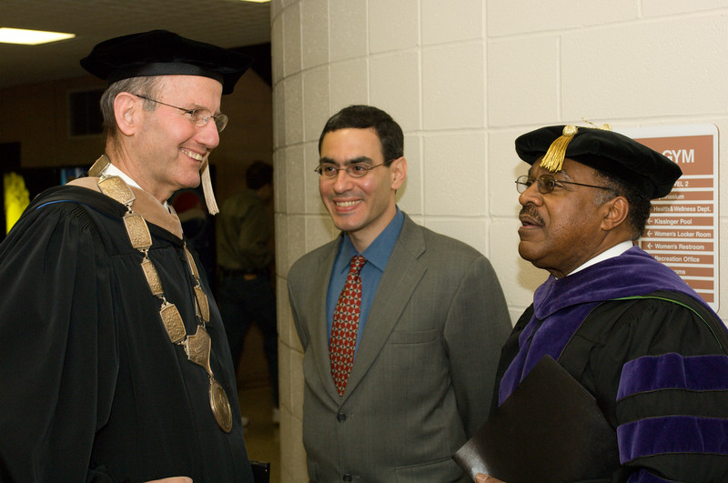 Photos during Buffalo State College undergraduate commencement.