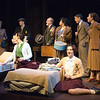 Photos of the Buffalo State College Theater Department production of the  Diary of Anne Frank in the Warren Enters Theater.