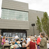 Ribbon cutting for New Burchfield-Penney Art Center at Buffalo State College.