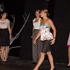 Fashion Technology student fashion show in Black Box Theater in the Donald Savage Communication and Theater Arts Building.
