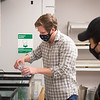 Dr. Gavin Leighton working with students in his BIO 213 Introduction to Ecology, Evolution, and Behavior at SUNY Buffalo State College.