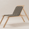 Student wood/furniture design project at SUNY Buffalo State College.