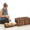 Student furniture design project by Emma Albrecht at SUNY Buffalo State College.