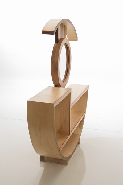 Student furniture design project by Susan Koloski at SUNY Buffalo State College.
