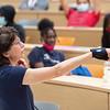 College majors presentation by Continuing Professional Studies Graduate Intern, Darcy Biltekoff during the CSAT Summer Bridge Program at SUNY Buffalo State College.