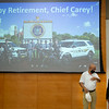 Retirement party for Chief of Police, Pete Carey at SUNY Buffalo State College.