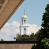 Rockwell Hall bell tower at SUNY Buffalo State College.