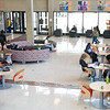 Students studying in E.H. Butler Library at SUNY Buffalo State College.