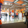 Students walking through Campbell Student Union at SUNY Buffalo State College.