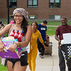 Students moving into residence halls at SUNY Buffalo State College.