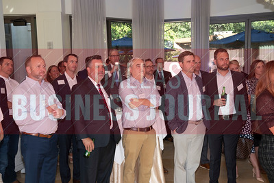 The Cushman Wakefield, MM50 VIP reception held at  Fearing's Restaurant on Wednesday evening.