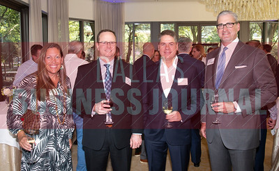Tiffany Cason with Independant Finacial, Brad Voss, TBK Bank, Todd Ritterbusch, and Michael Keith, Independant Finacial.