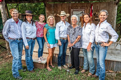 Cowgirls with Inductees-2769
