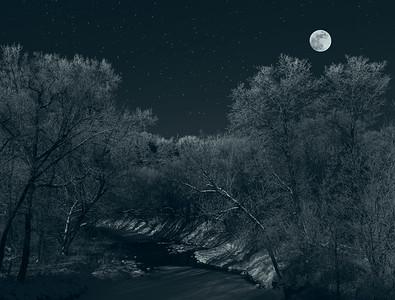 DA054,DB,Frosty_Night_with_Full_Moon