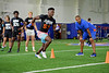 High School recruits from across the country work out at the 2021 University of Florida Gators Friday Night Lights at Ben Hill Griffin Stadium in Gainesville, Florida on July 30th, 2021 (Photo by David Bowie/Gatorcountry)