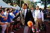 The Florida Gators walk into Ben Hill Griffin Stadium as they host the Florida Atlantic University Owls to kick off the 2021 season.  September 4th, 2021. Gator Country Photo by David Bowie.