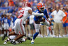 Photos from the first half as the University of Florida Gators host the #1 Alabama Crimson Tide at Ben Hill Griffin Stadium in Gainesville, Florida.  September 18th, 2021. Gator Country Photo by David Bowie.