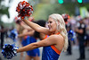 The #11 University of Florida Gators walk into Ben Hill Griffin Stadium as they host the #1 Alabama Crimson Tide at Ben Hill Griffin Stadium.  September 18th, 2021. Gator Country Photo by David Bowie.